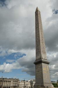 Obelisco in Place de la Concorde