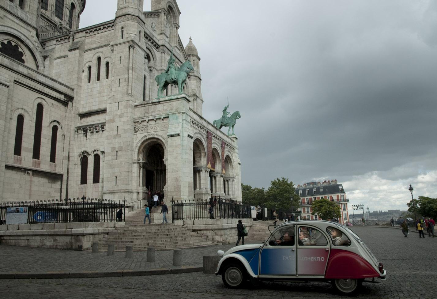 parigi in stile vintage