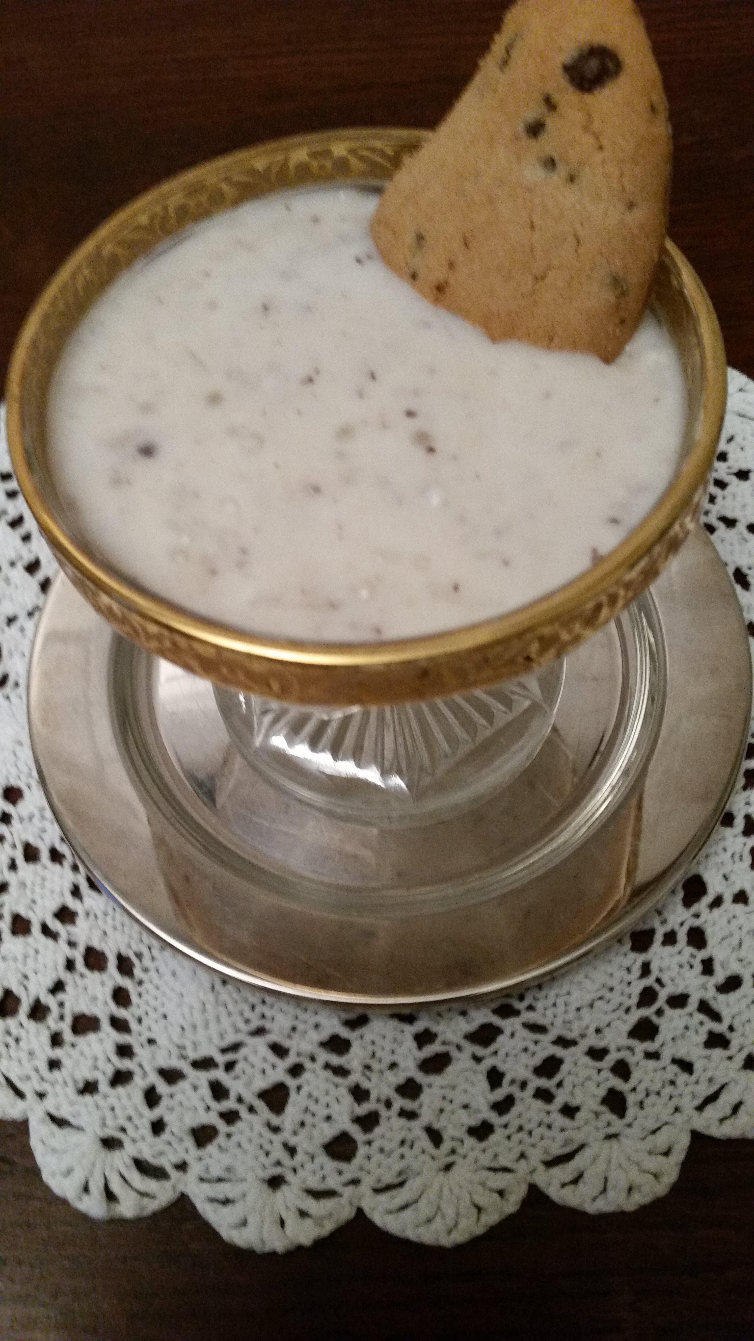 crema di riso e cocco fresco