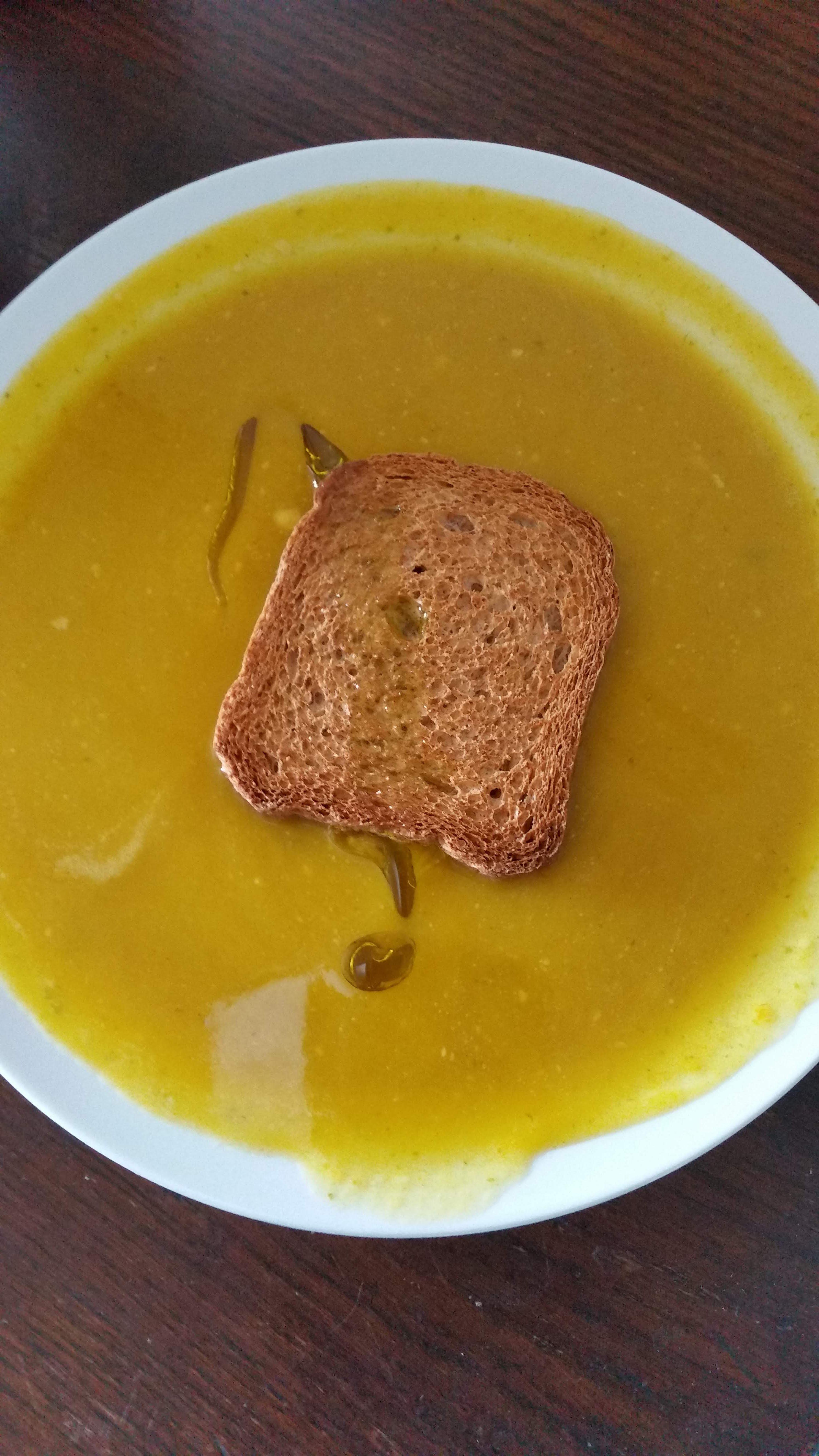 soupe surprise alla zucca