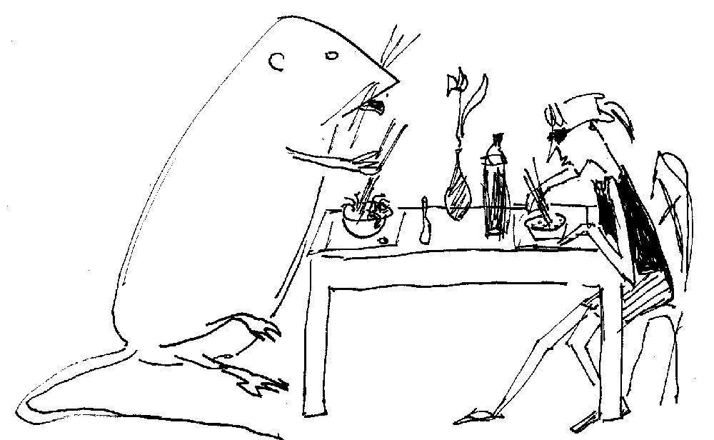 a tavola col topo