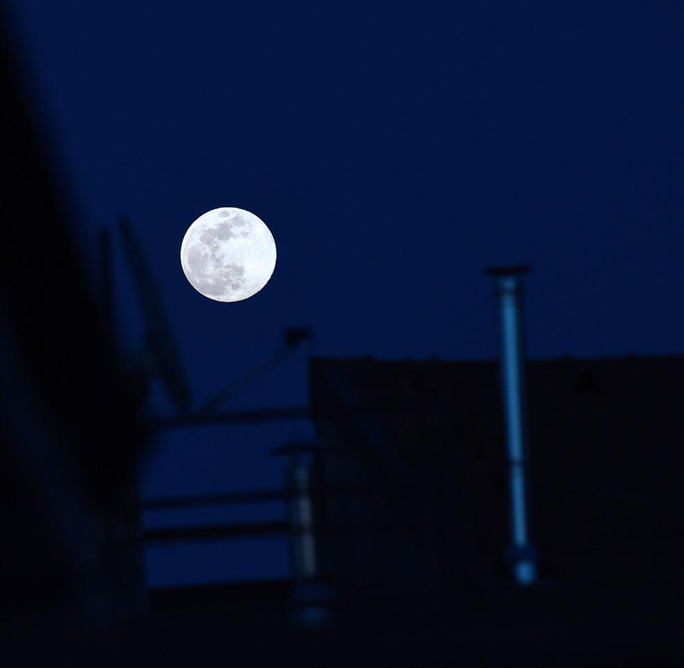 avere la luna