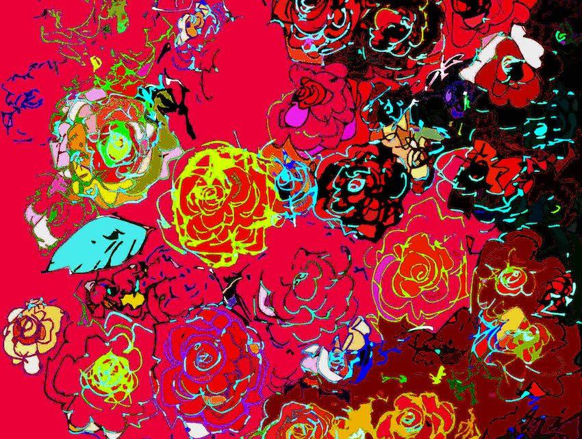 fiori per le vittime delle foibe